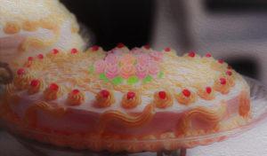 バタークリームケーキイメージ図