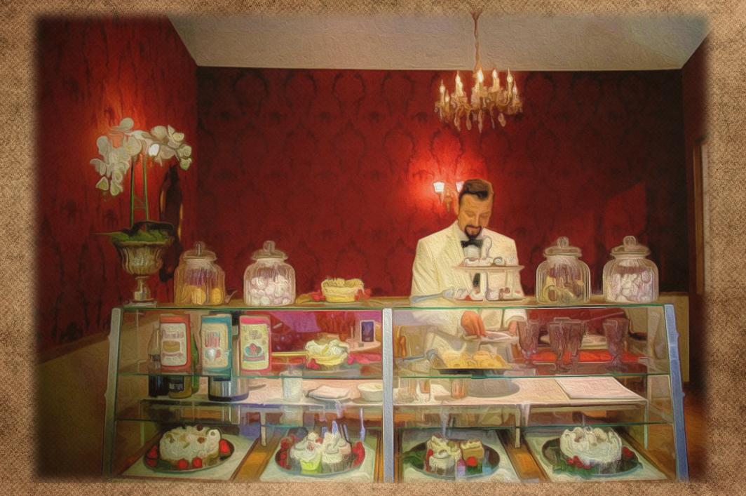昭和テイストはバタークリームケーキっしょっ!だがトラウマ・・