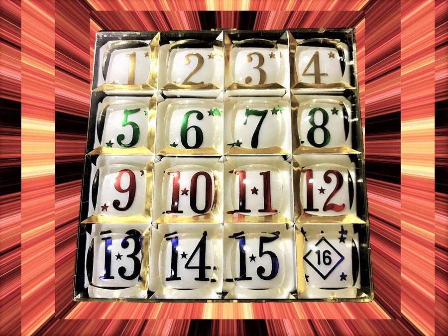昭和レトロ知育玩具の決定版・15パズル モーラーにフラれ発見!